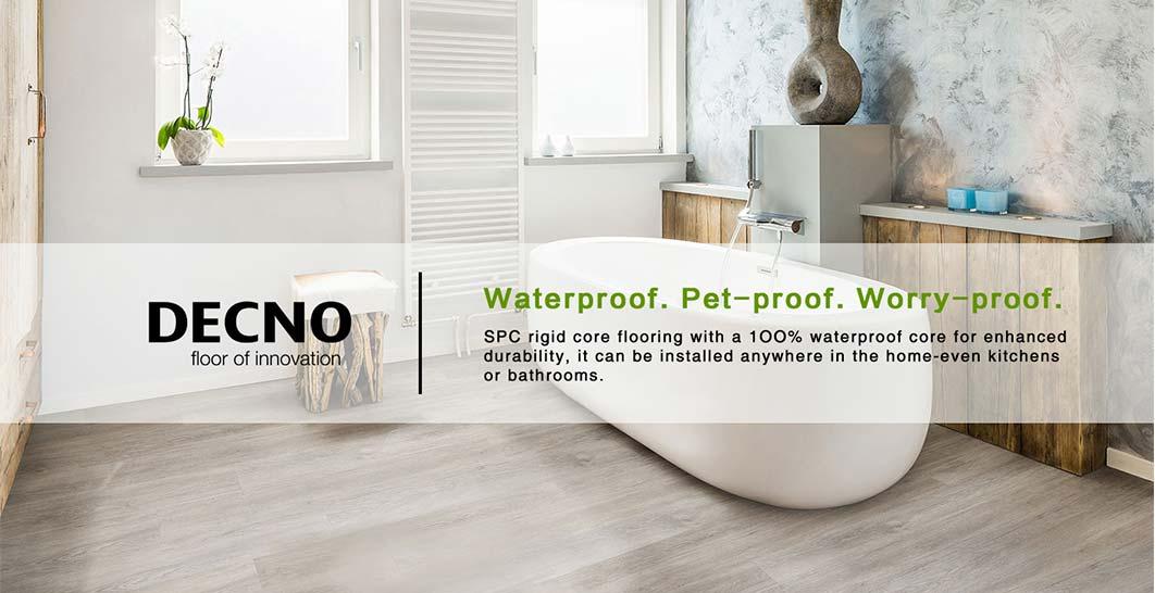 4mm Waterproof Rigid Core SPC flooring
