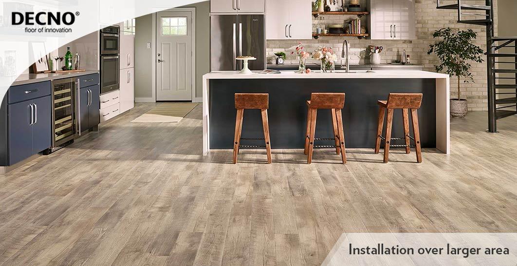 With XPE SPC Vinyl Plank Flooring