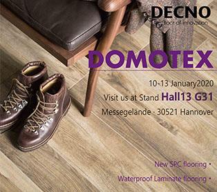 DOMOTEX Ганновер 2020 - DECNO GROUP